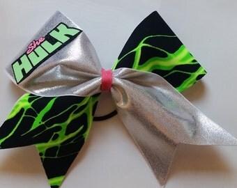 She-Hulk Cheer Bow