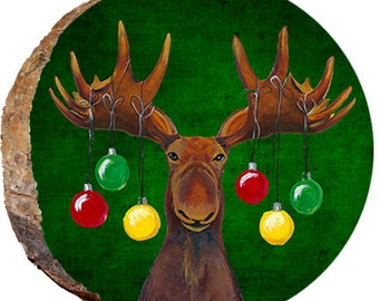 Christmas Moose - DX113