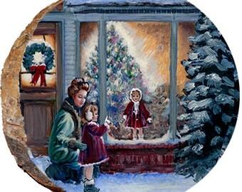 Christmas Window Shopping - DX117