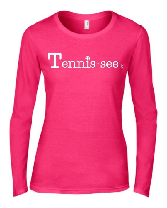 Tennessee Tshirt, Hot Pink Tshirt, Tennis.see® Tshirt, Tennessee Shirt, Pink Tennis Shirt, Pink Tennessee Top, Tennis.see® Shirt, Unisex