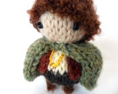 Knit Frodo Baggins Pocket Hobbit