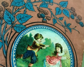 Antique 1800's Victorian Book Little Lizzie by Mary Gillies Rare