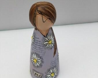 Miss May peg doll