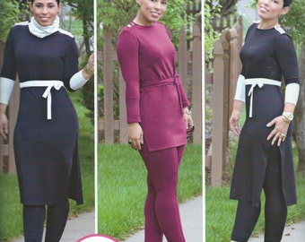 UNCUT Simplicity S0279 or 1019 Pants and Tunic Sewing Pattern Mimi G Style 8-10-12-14-16-18-20-22-24-26