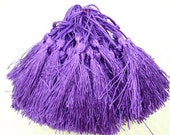 Wholesale 20pcs purple tassels silk tassels satin tassels Jewelry tassels for decorating tassels
