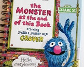 2016 Calendar Year Planner The Monster at the End of this Book Little Golden Book OR Other LGB