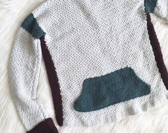 Brixton Sweater Crochet Pattern // Intermediate // Written Tutorial