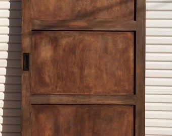 Custom Three Panel Rustic Barn Door