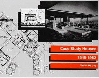 1977 Case Study Houses 1945-1962 Esther McCoy Mid Century Modern House Plans