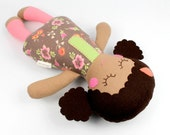 baby doll   soft baby toy    Rosie doll    first doll    baby rag doll    baby shower gift    sleeping doll