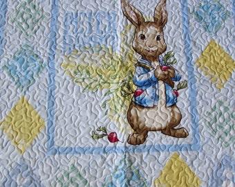 Peter rabbit quilt