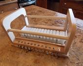 Mod 2 Solid Oak, Baltic Birch & High Density Polyethylene Soap Cutter
