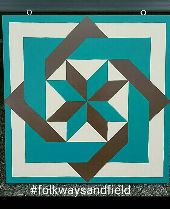 Items similar to Square Dance - 2' x 2' Barn Quilt Square ...