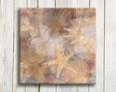Nautical Shell Art print - Shell Art Print Sealife - bedroom decor - wedding gift