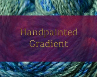 Handpainted Gradient - Combed Top and Roving Spinning Fiber Tutorial - Handspun Yarn Tutorial