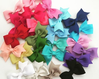 "Hair Bows Clips, 2"" - 2.5"" inch Bows Baby/Toddler/Girls/Kids Hair Bows Clips"
