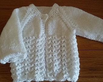 Newborn Baby Cardigan Pattern