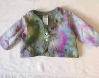 Funky Tie Dye Baby Jacket size 6 month K094