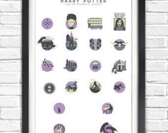 Harry Potter - 3 - The Prisoner of Azkaban - ALTERNATIVE VERSION - 19x13 Poster