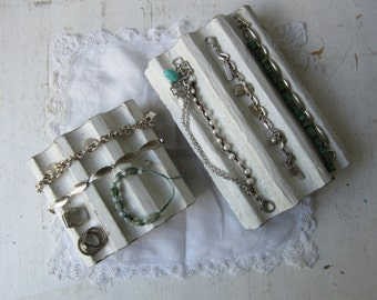 Your Choice Jewelry Display Block for Necklaces, Bracelets and Rings - Architectural Salvage - Shabby Chic - Recycled - Quantities Available