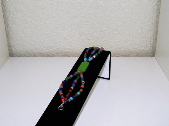 SALE!!  15% off!! Multi-Strand Matte Finish Beaded Bracelet