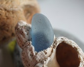blue sea glass beach glass jewelry supplies arts and crafts supply beach pebbles