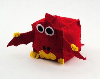 Pterodactyl Plush Animal Block