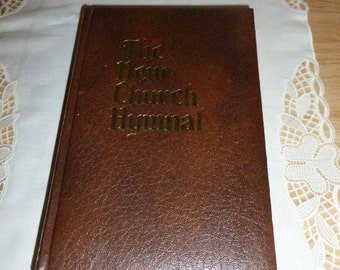 The New Church Hymnal HC Leather 1976