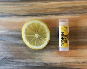 Vegan Lemon Poundcake Lip Balm