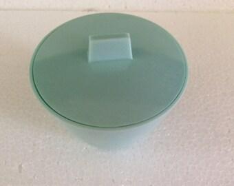 Vintage Turquoise Sugar Bowl