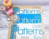 ON SALE Vintage Book-Blue Ribbon Crochet Patterns p120