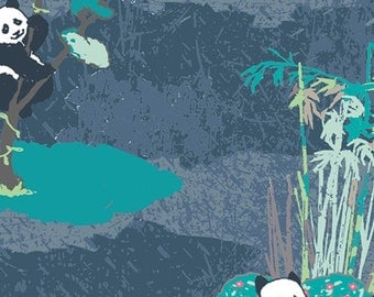 Pandagarden Naptime in Knit - from Art Gallerys Pandaliciius