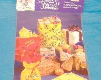Plaid Express Yourself Stencil - Care Package & Goodie Bag Stencil - Great for Signs, Posters, Wrappings, Scrapbooks - DESTASH