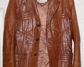 Berman's, The Leather Experts, Vintage Men's Dress Jacket style 1847