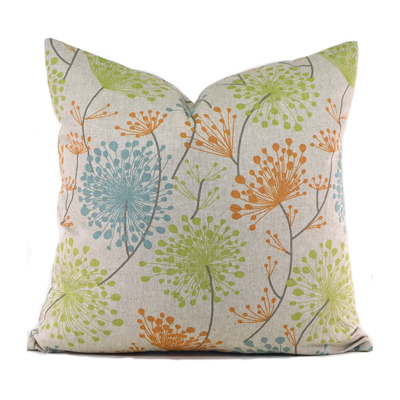 Throw Pillow Cover Measurements : Pillow Cover ANY SIZE Decorative Pillow Cover Floral Pillow