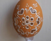 Hand Painted and Engraved Easter Eggs