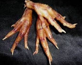 1 Pair of dry Chicken feet