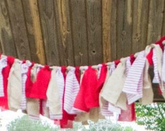 fabric garland banner