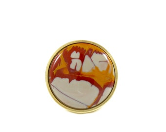 Eternal Flame/Stone Knob/ Dresser Knob/ Drawer Knob/ Drawer Pull NEW!!!