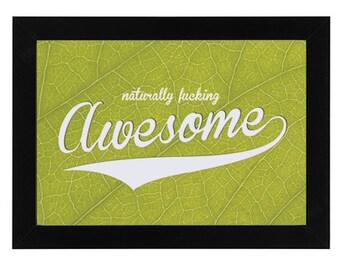 Awesome Framed Photo Print