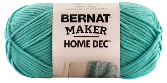 Bernat Maker Home Dec Yarn In Aqua