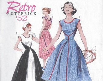 Butterick B4790 - Retro, Misses' Walk-Away Wrap Dress Sewing Pattern - Sizes 8-14