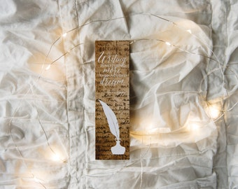 Writing Quote - Bookmark