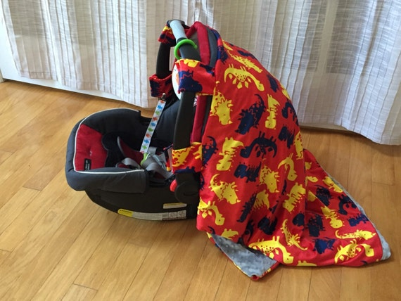 long dinosaur car seat cover by beyoueveryday on etsy. Black Bedroom Furniture Sets. Home Design Ideas