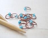 Robin's Nest / Snag Free Knitting Stitch Markers