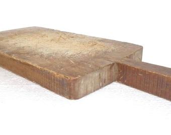 Antique Primitive Cutting Board 45 cm x 20 cm