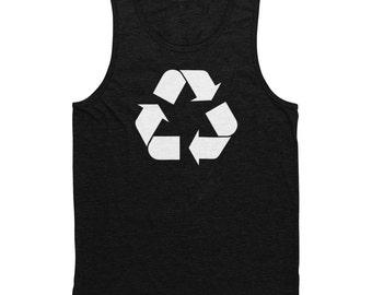 Recycle Men's Tank Top Black