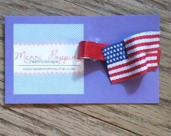 American Flag Summer Ribbon Creation