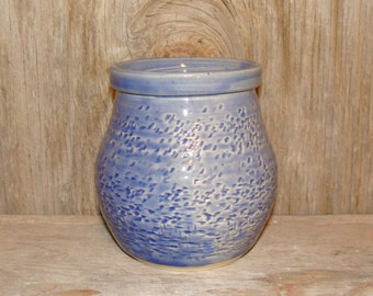 Saphire Blue Textured Pot