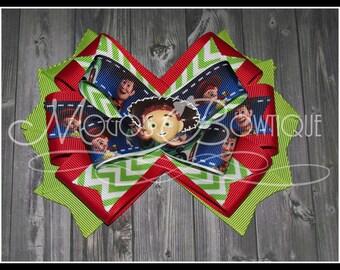 Jessie - Toy Story - Ribbon Bow